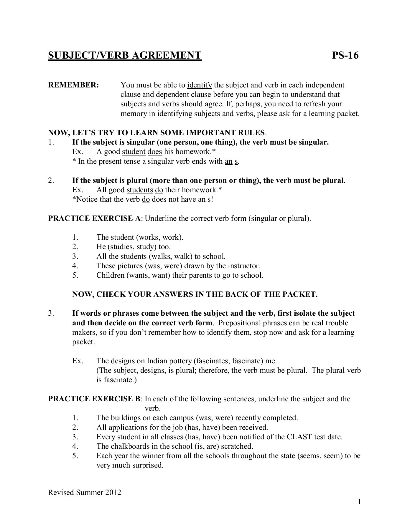 Has Have Worksheet For Grade 2