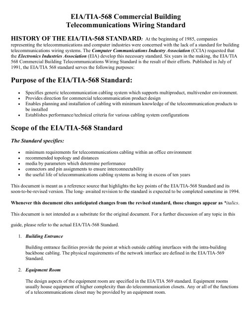 small resolution of eia tia 568 commercial building telecommunications wiring fliphtml5