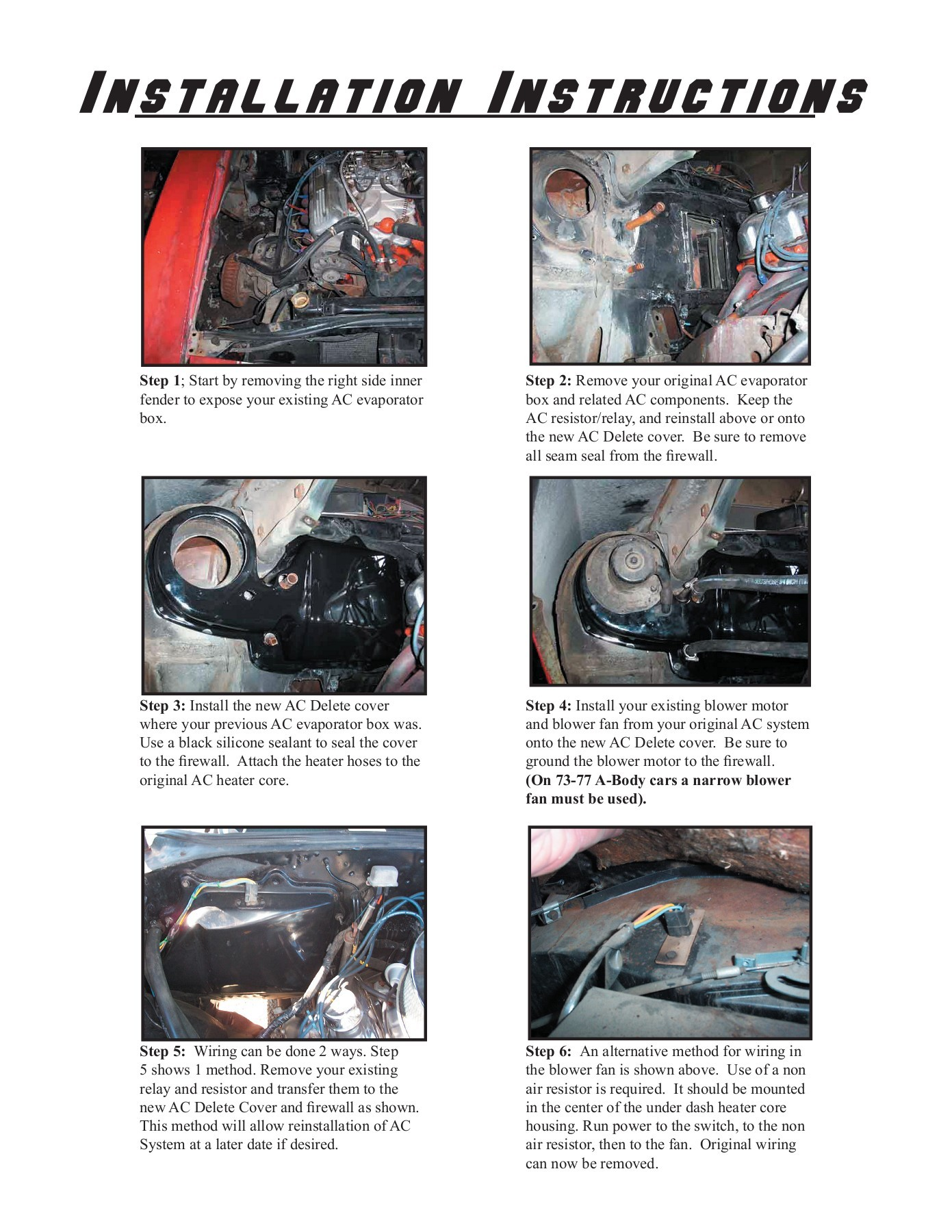 hight resolution of 70 81 camaro ac delete cover 68 79 nova ac delete cover 67 pages 1 4 text version fliphtml5