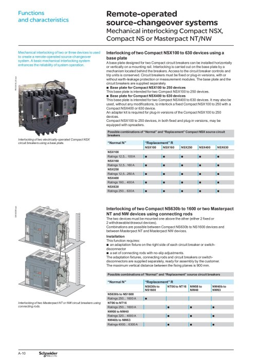 small resolution of interlocking of nw acb pdf schneider electric pages 1 8 text version fliphtml5