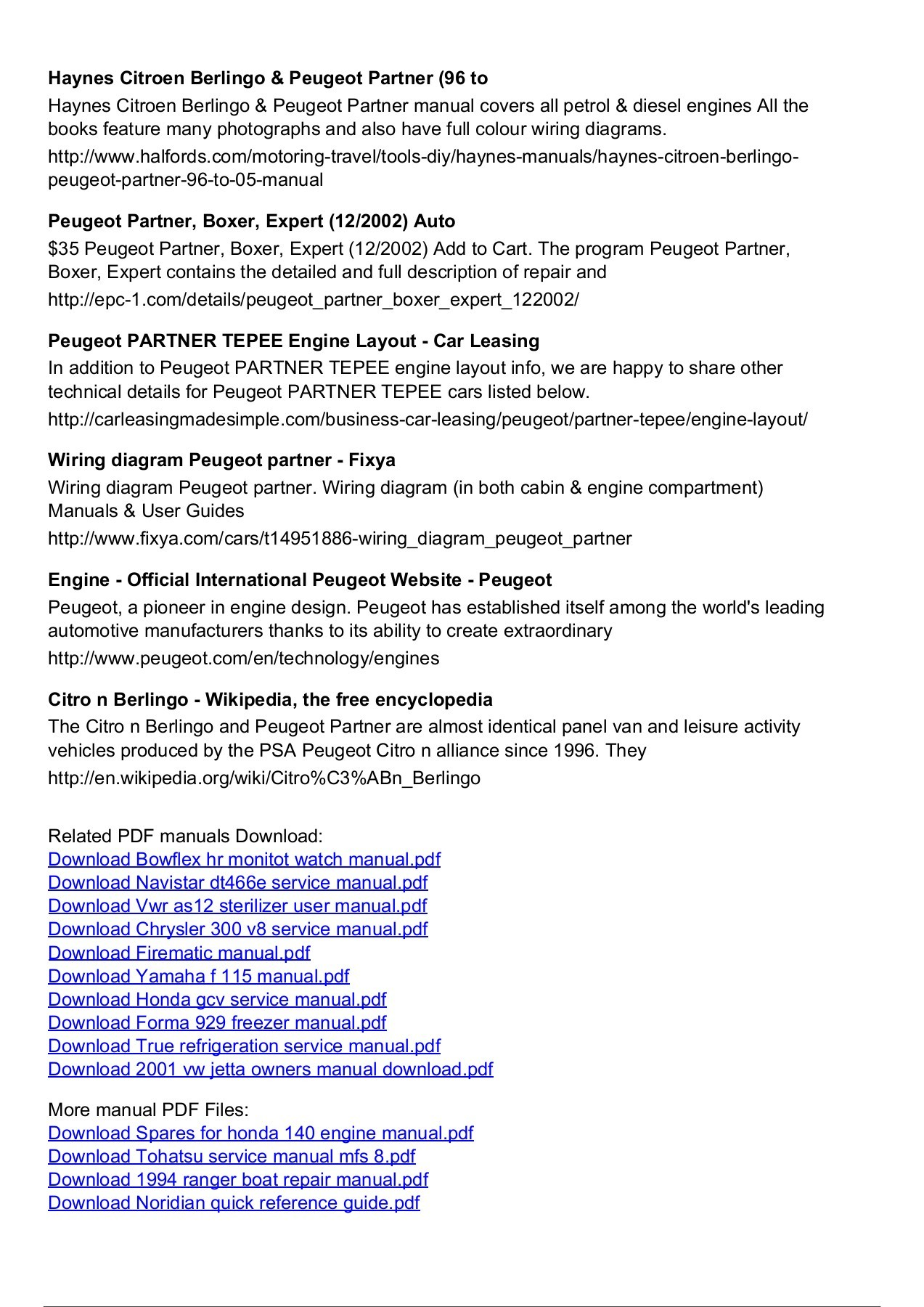 hight resolution of peugeot partner manual engine diagram pages 1 3 text version fliphtml5