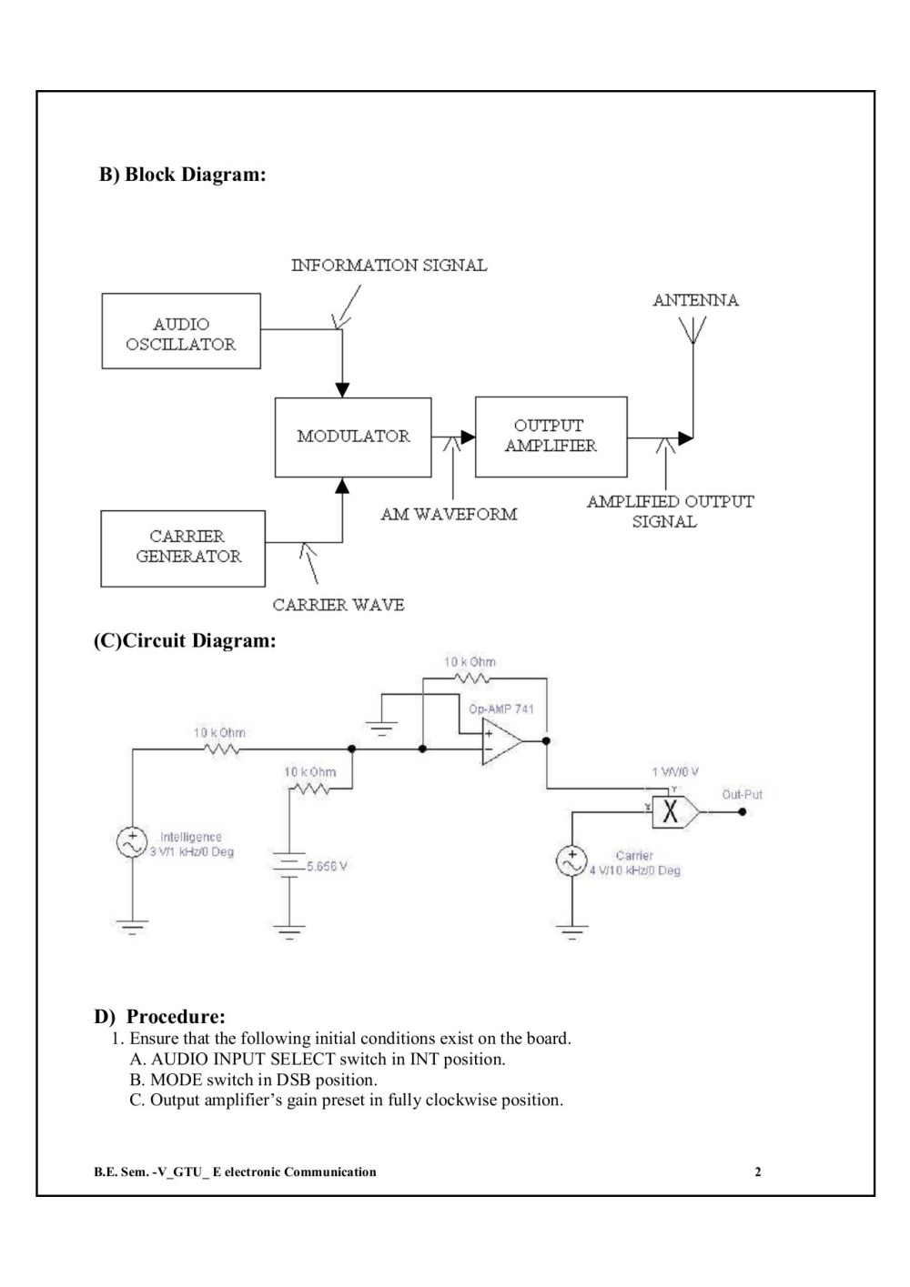 medium resolution of experiment 1 amplitude modulation process pages 1 31 text version fliphtml5