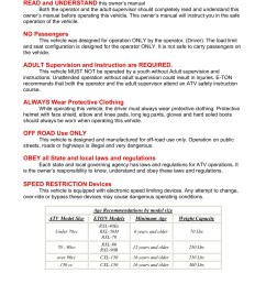 viper mini 50 wiring diagram wiring librarye ton 50 viper atv owners maintenance instruction pages 1 [ 1391 x 1800 Pixel ]
