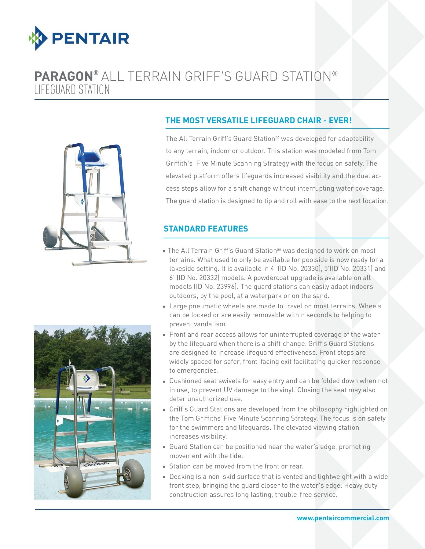 paragon lifeguard chairs white leather chair office all terrain griff s guard station fliphtml5