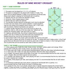 9 Wicket Croquet Court Diagram Cs130 Alternator Wiring The Rules And Regulations Of Homedepot Com Pages 1 3 Text Version Fliphtml5