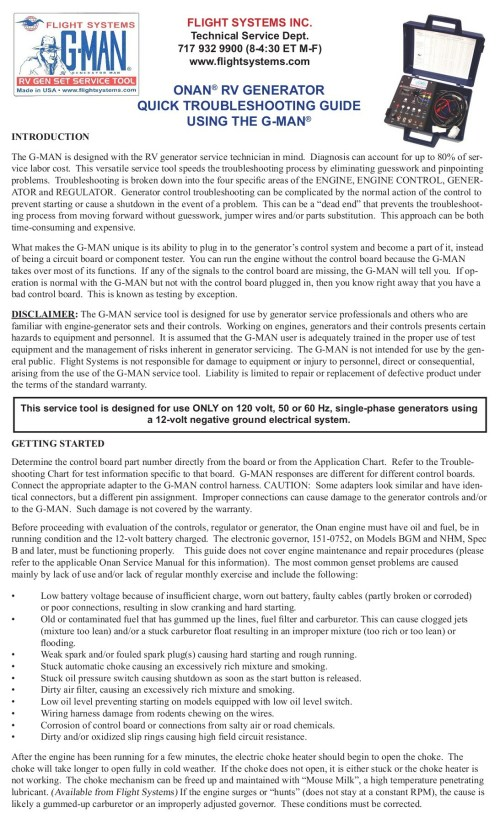 small resolution of onan rv generator quick troubleshooting guide using the g man pages 1 9 text version fliphtml5
