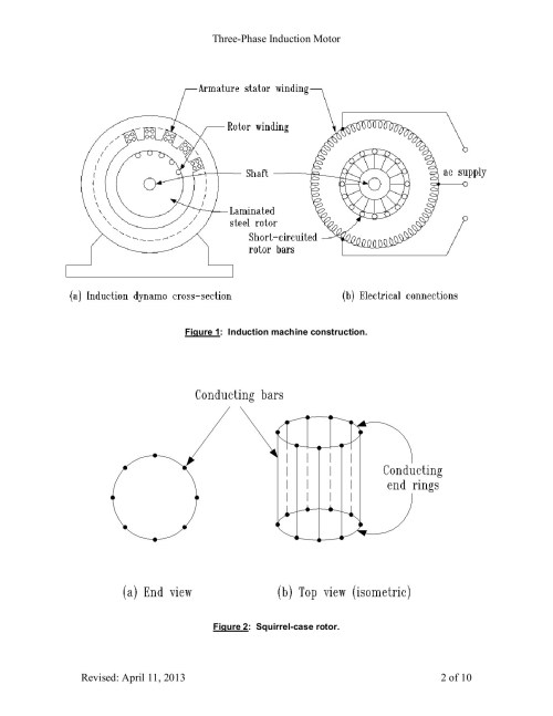 small resolution of cros section of an induction motor diagram