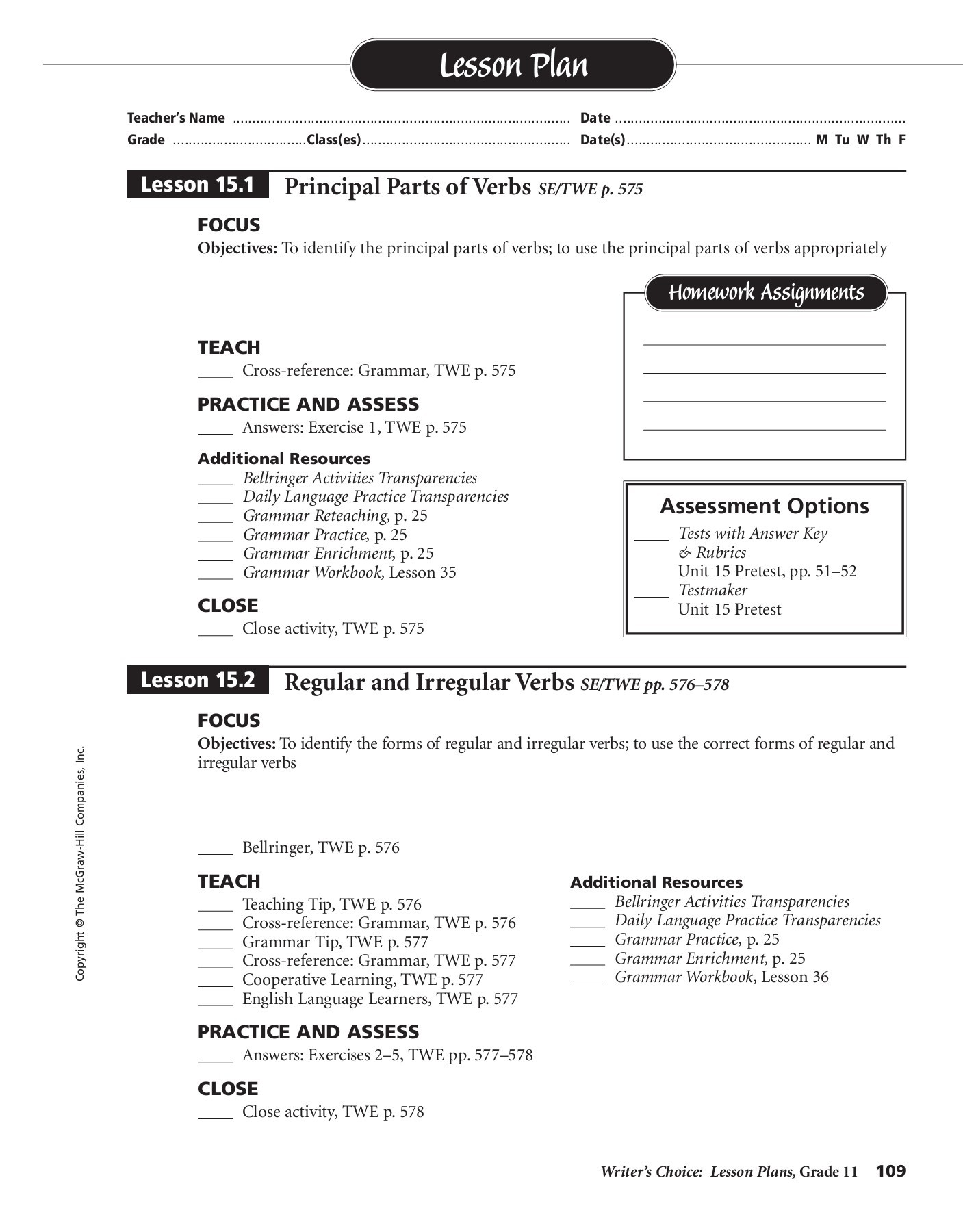 The Mcgraw Hill Companies Inc Worksheet Answers