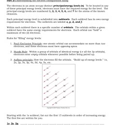 electron configuration packet part 1 understanding the pages 1 5 text version fliphtml5 [ 1391 x 1800 Pixel ]