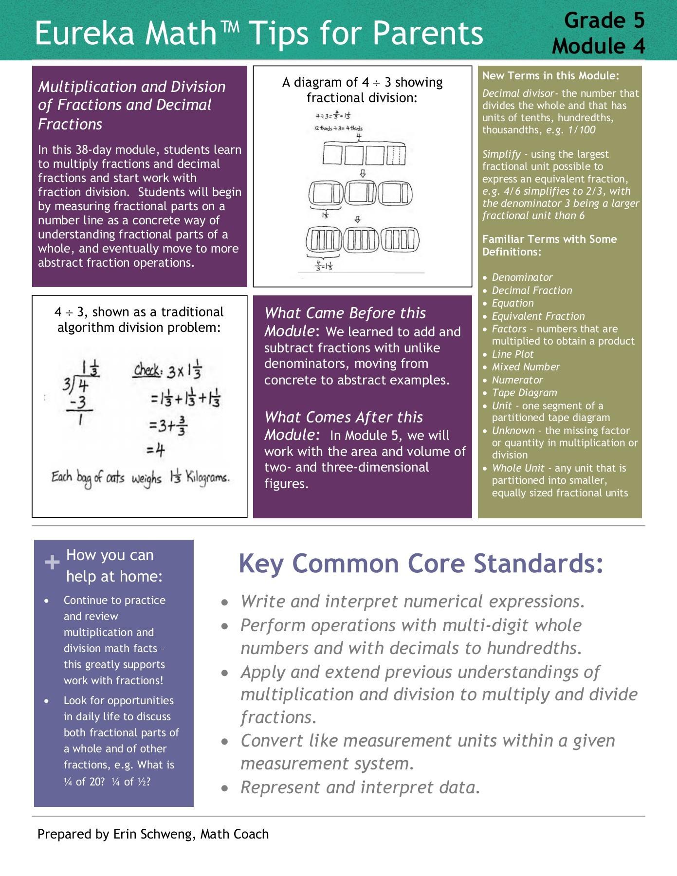hight resolution of eureka math grade 5 module 4 parent tip sheet