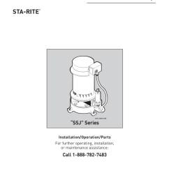 owner s manual vertical jet pumps sta rite [ 1391 x 1800 Pixel ]
