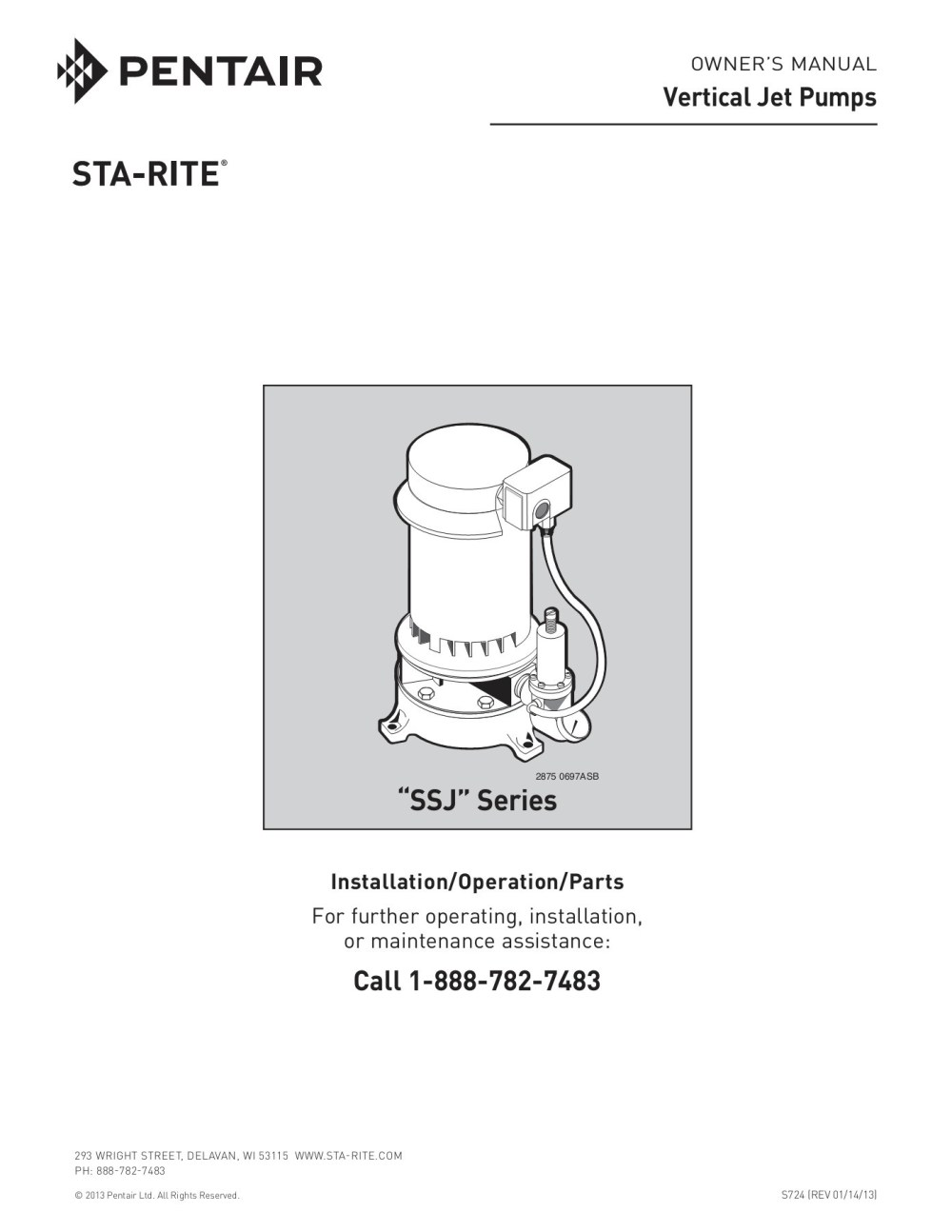 medium resolution of owner s manual vertical jet pumps sta rite