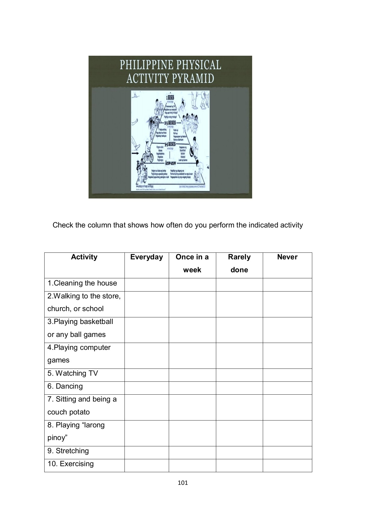 hight resolution of MAPEH-6-WORKSHEETS Pages 101 - 147 - Flip PDF Download   FlipHTML5