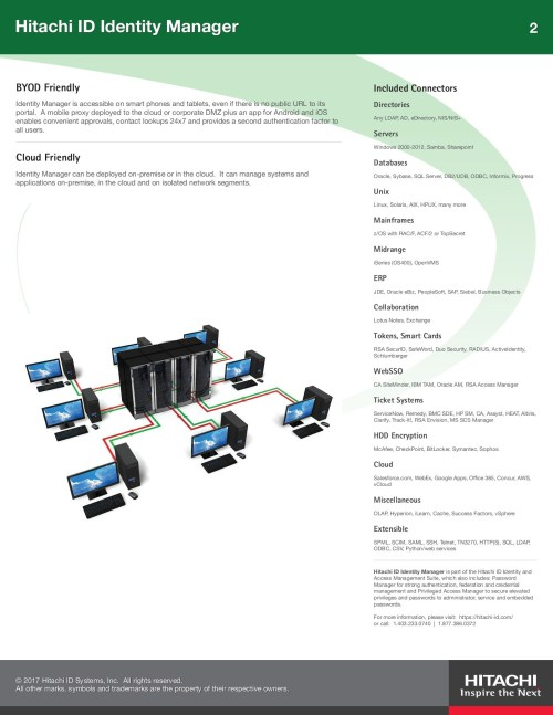 small resolution of hitachi id identity manager brochure pages 1 2 text version fliphtml5