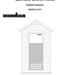 ironman 2 person outdoor ceramic sauna room pages 1 18 text version fliphtml5 [ 1272 x 1800 Pixel ]