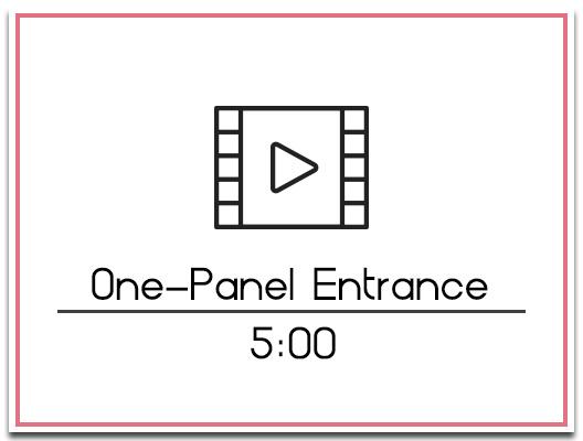 26.2 One Panel Entrance