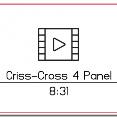 29. Criss-Cross 4 Panel