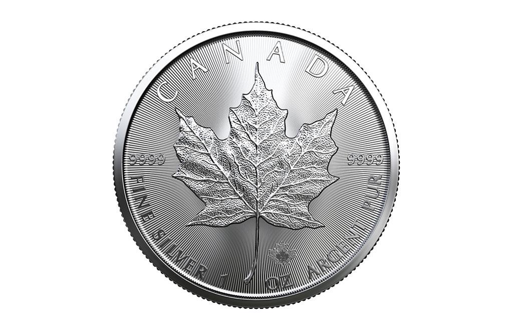購買 1盎司加拿大楓葉銀幣