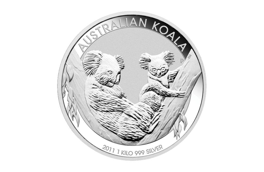 購買 2011 1 千克澳洲樹熊銀幣.999