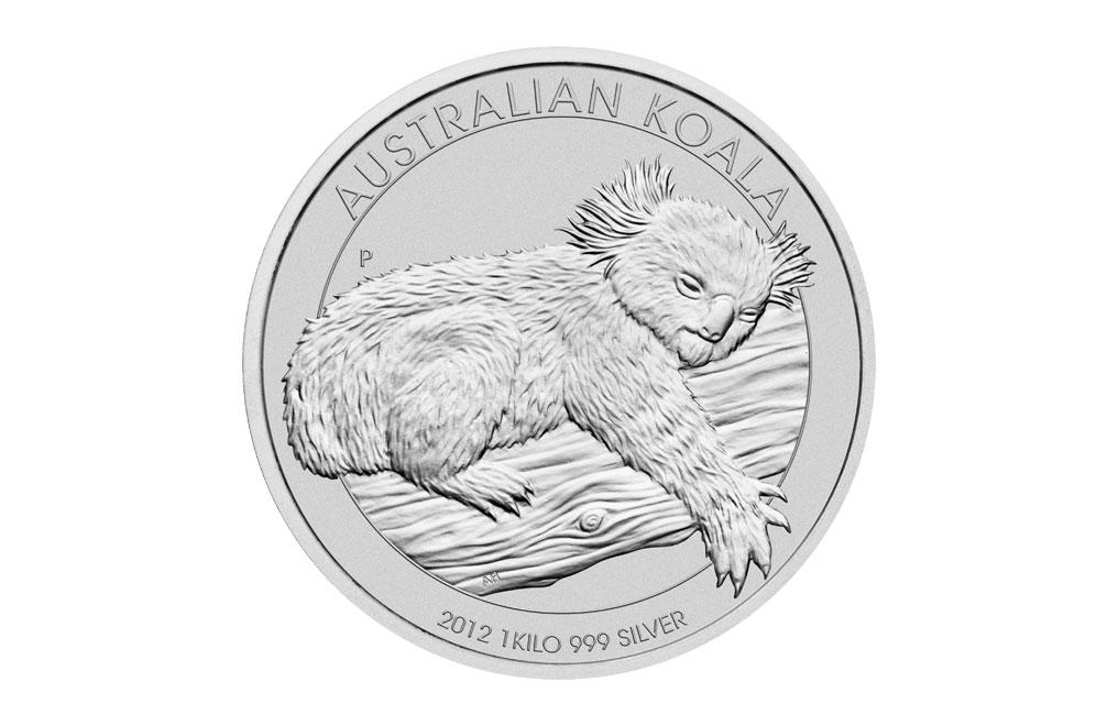 購買 2012 1千克澳洲樹熊銀幣