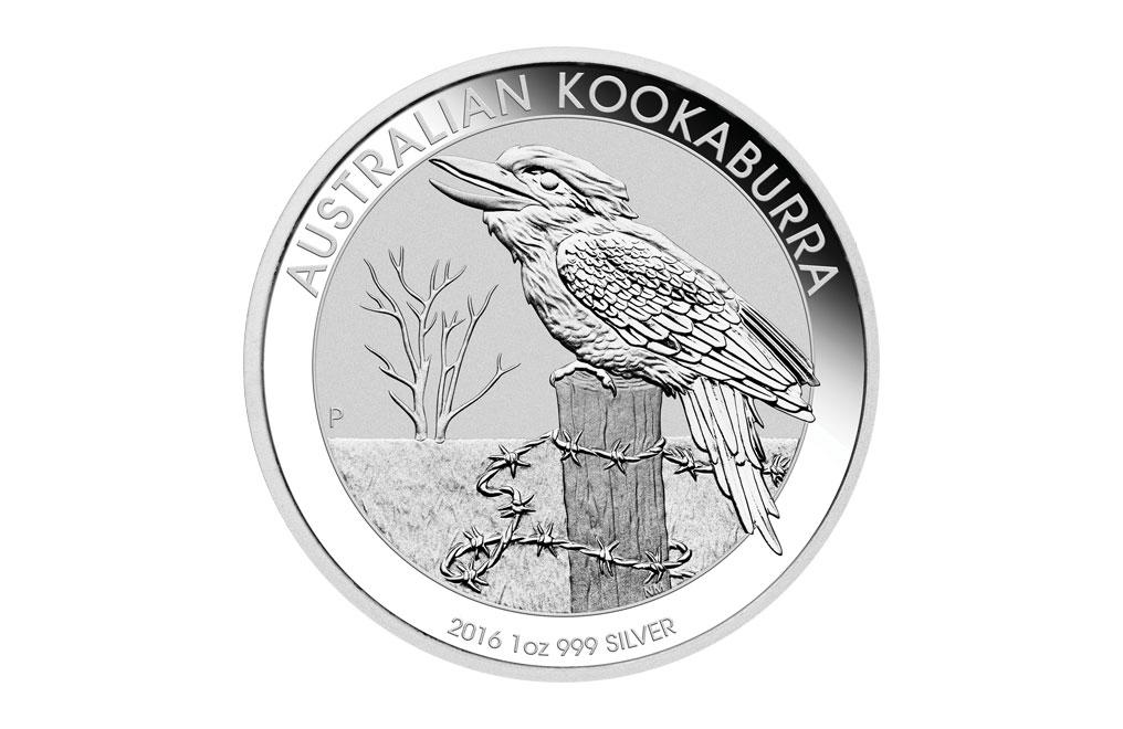 購買 2016 1盎司澳洲笑翠鳥銀幣