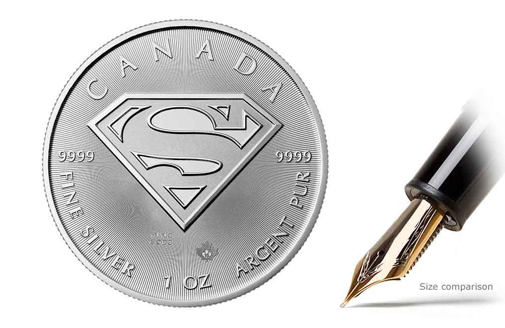 購買 2016 1盎司超人S-盾銀幣