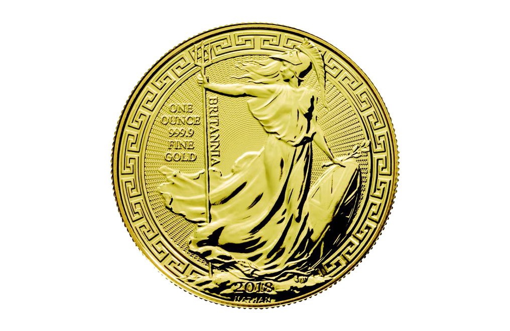 購買 2018 1盎司英國不列顛女神東方飾邊金幣