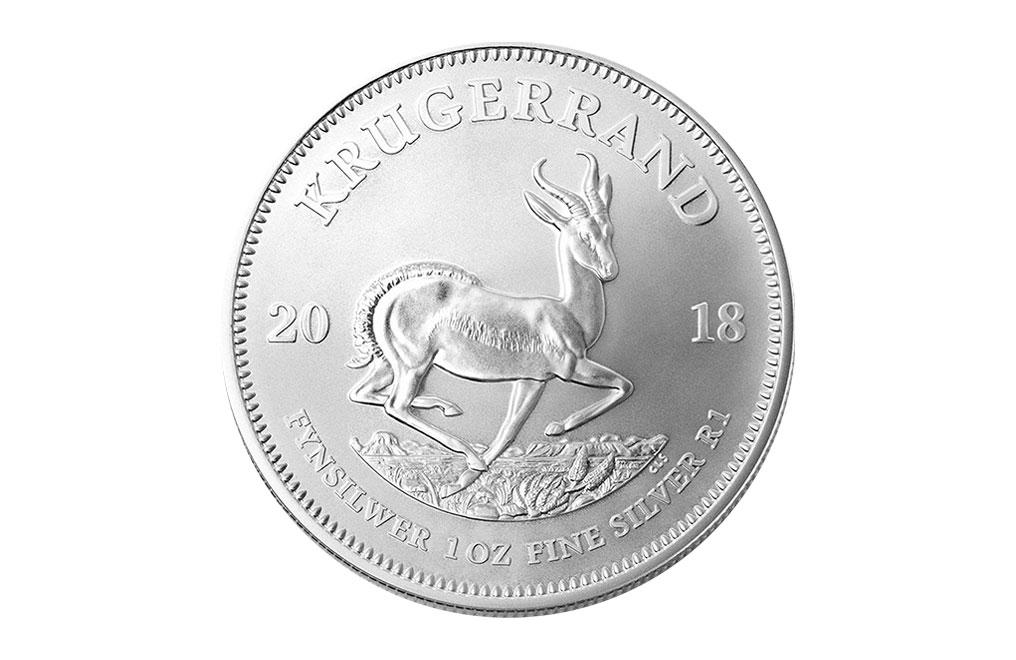 購買 1盎司南非富格林銀幣