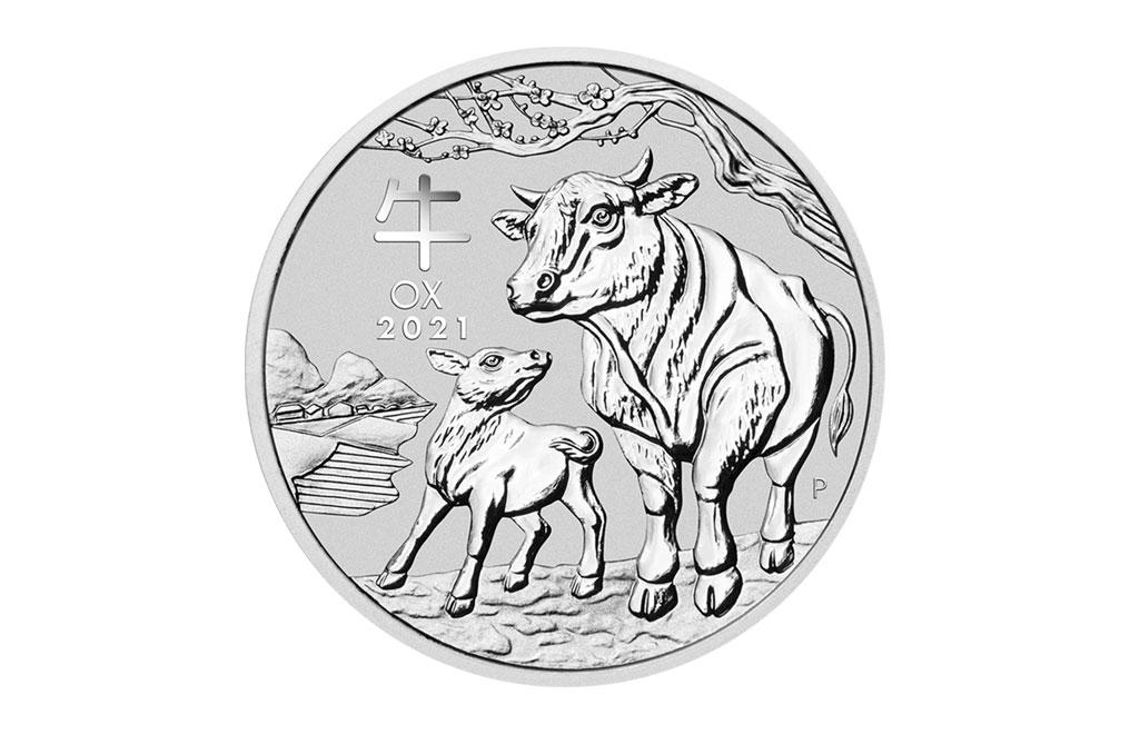 購買 2021 2盎司澳洲牛年銀幣