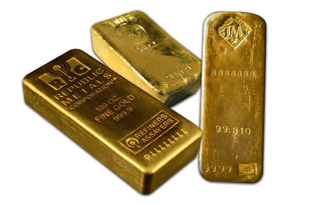 buy 100 oz gold