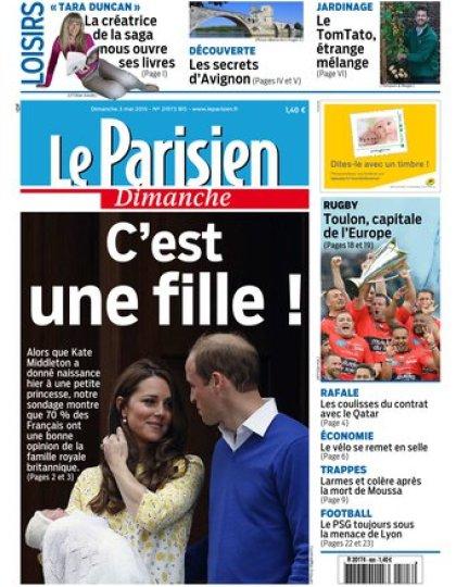 Le Parisien + Guide de votre dimanche du 03 mai 2015