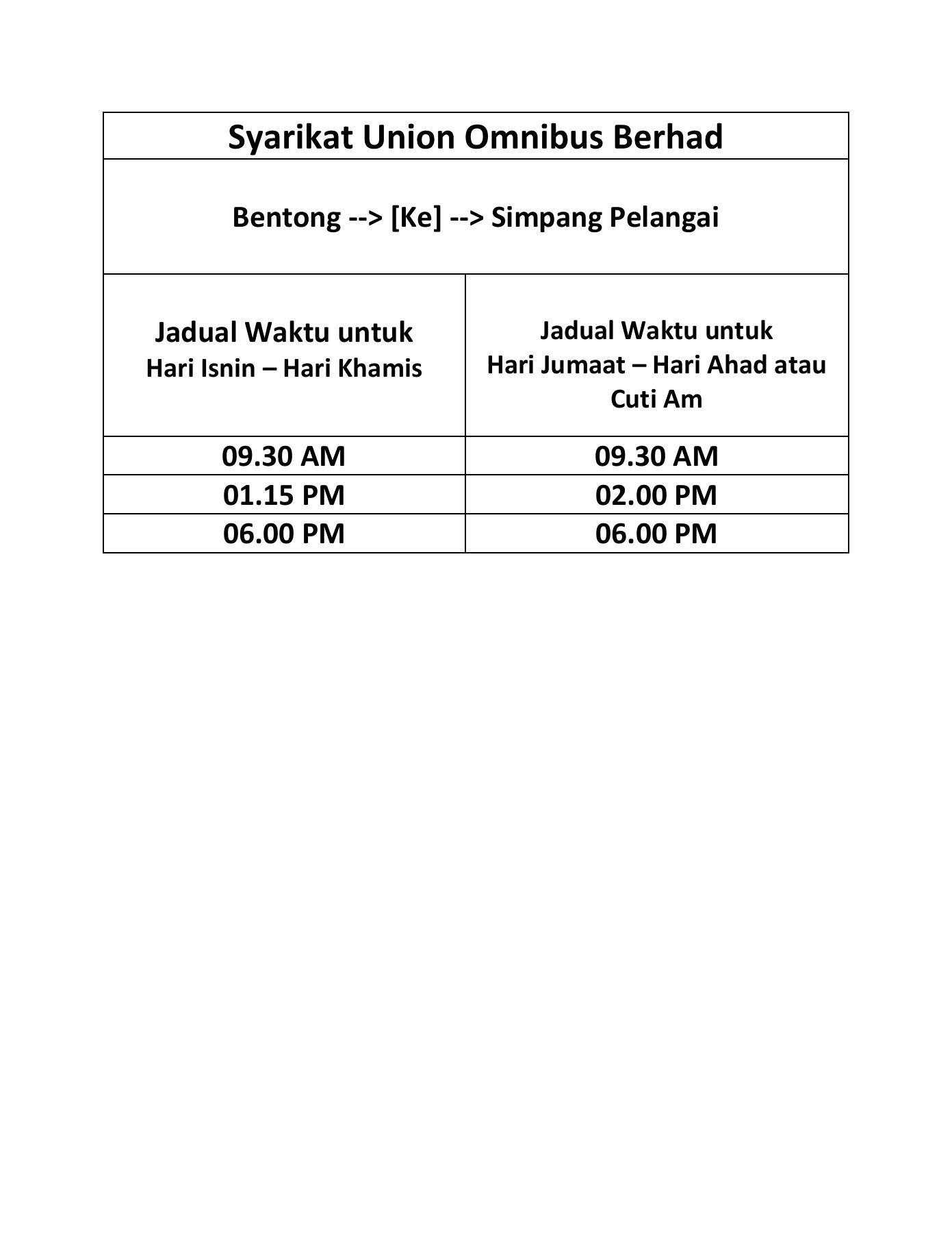 Waktu Am Pm : waktu, Bentong