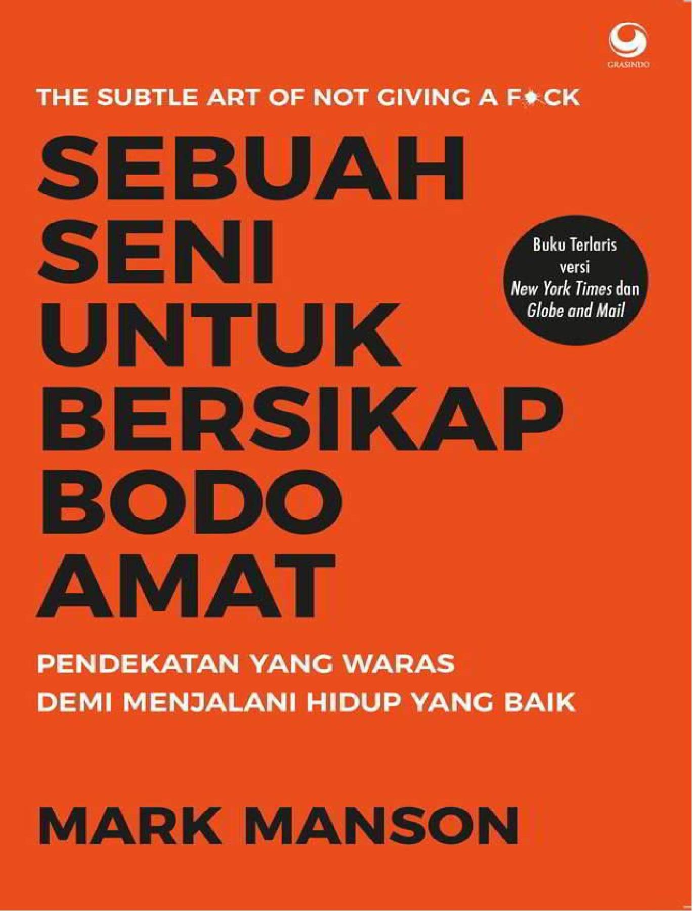 Sebuah Seni Bersikap Bodo Amat Pdf : sebuah, bersikap, Sebuah, Untuk, Bersikap, Amat.pdf, Pages, PubHTML5