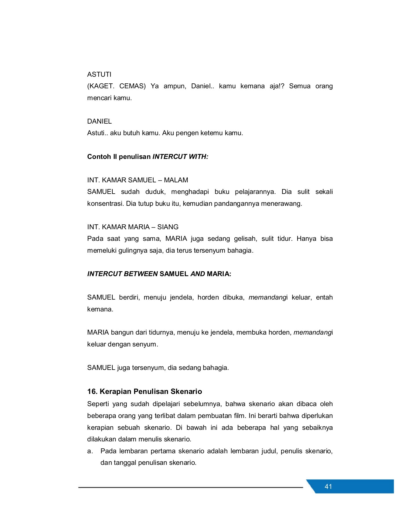 Contoh Script Film : contoh, script, Modul, PERANCANGAN, PENDEK, Pages, 51-82, PubHTML5