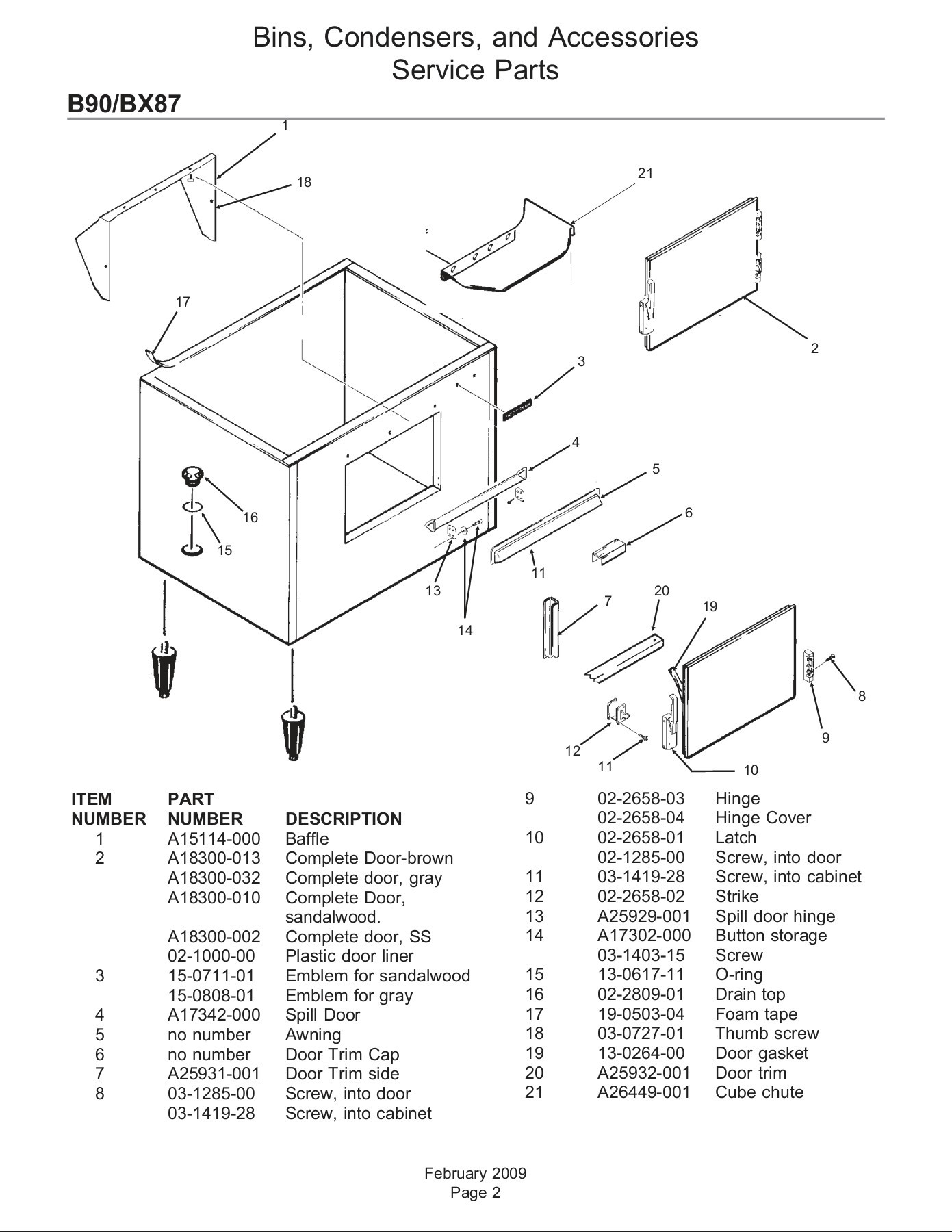 Scotsman 02-3769-01 Drain Assembly Cooktop Parts