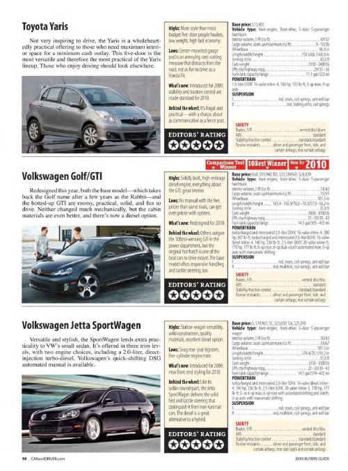 small resolution of car and driver buyer s guide 2010 pages 101 150 text version pubhtml5