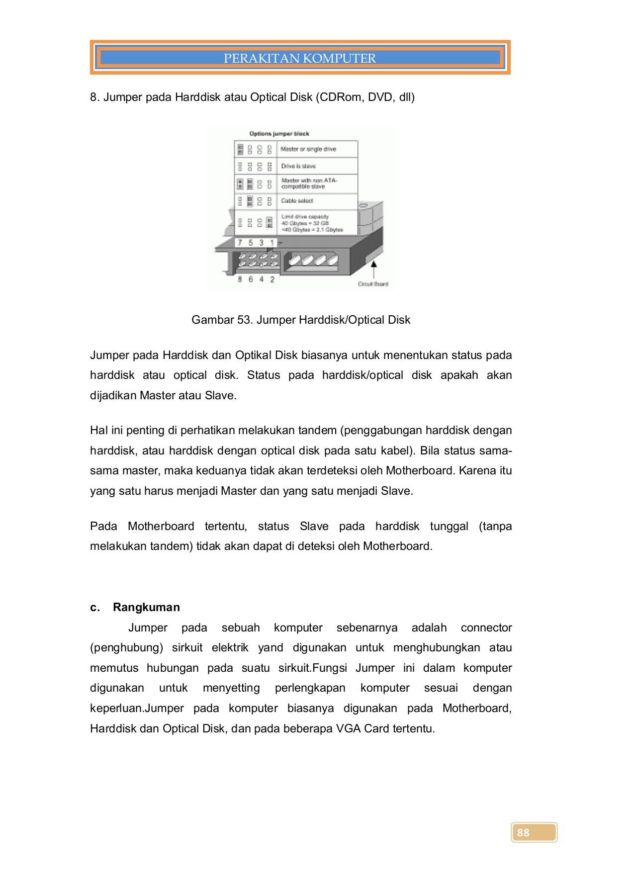 Fungsi Jumper Pada Motherboard : fungsi, jumper, motherboard, 1-C2-Perakitan, Komputer-X-1, Pages, 101-150, PubHTML5