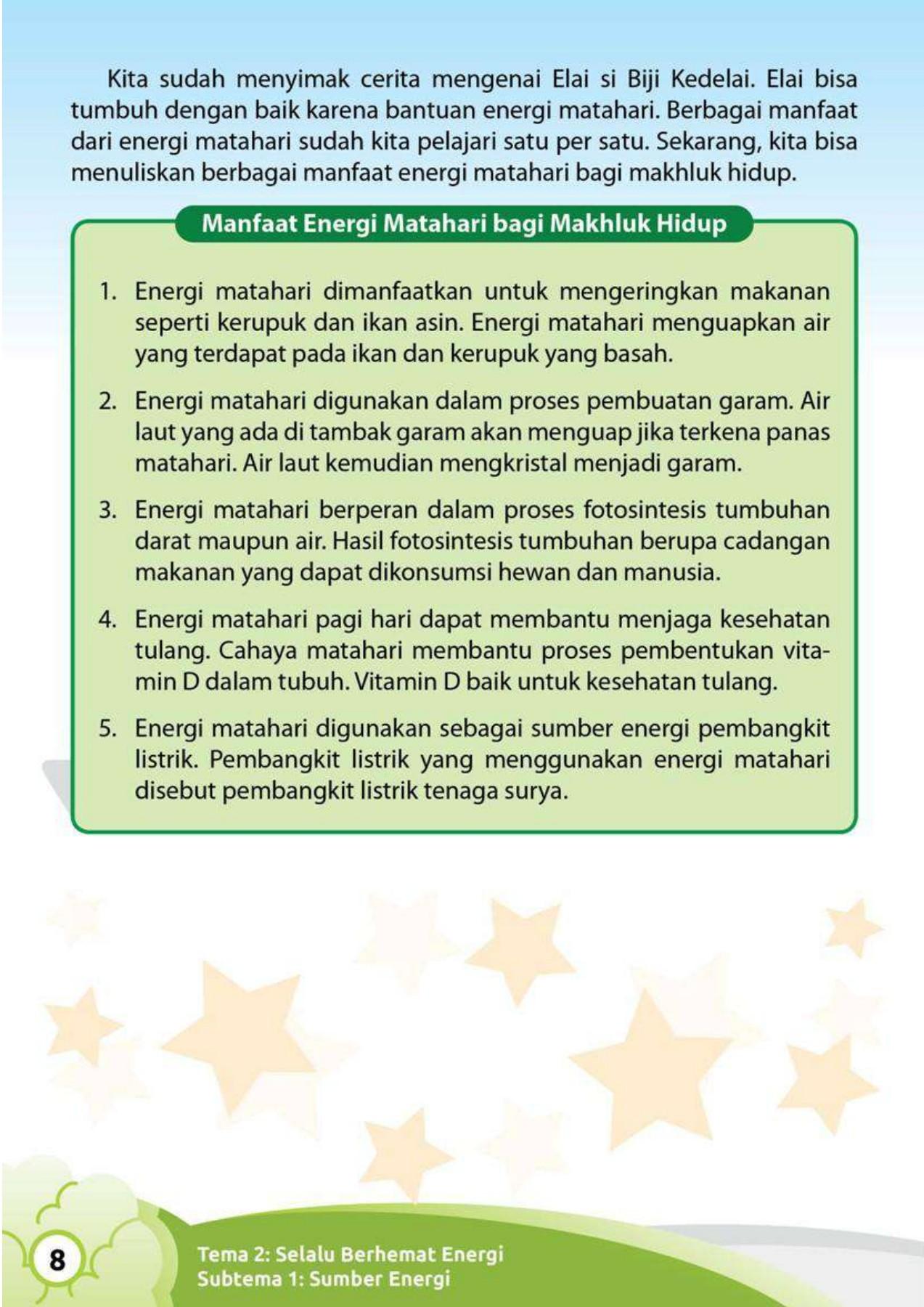 Manfaat Energi Matahari Bagi Hewan : manfaat, energi, matahari, hewan, Mandalika, Kelas, Pages, PubHTML5