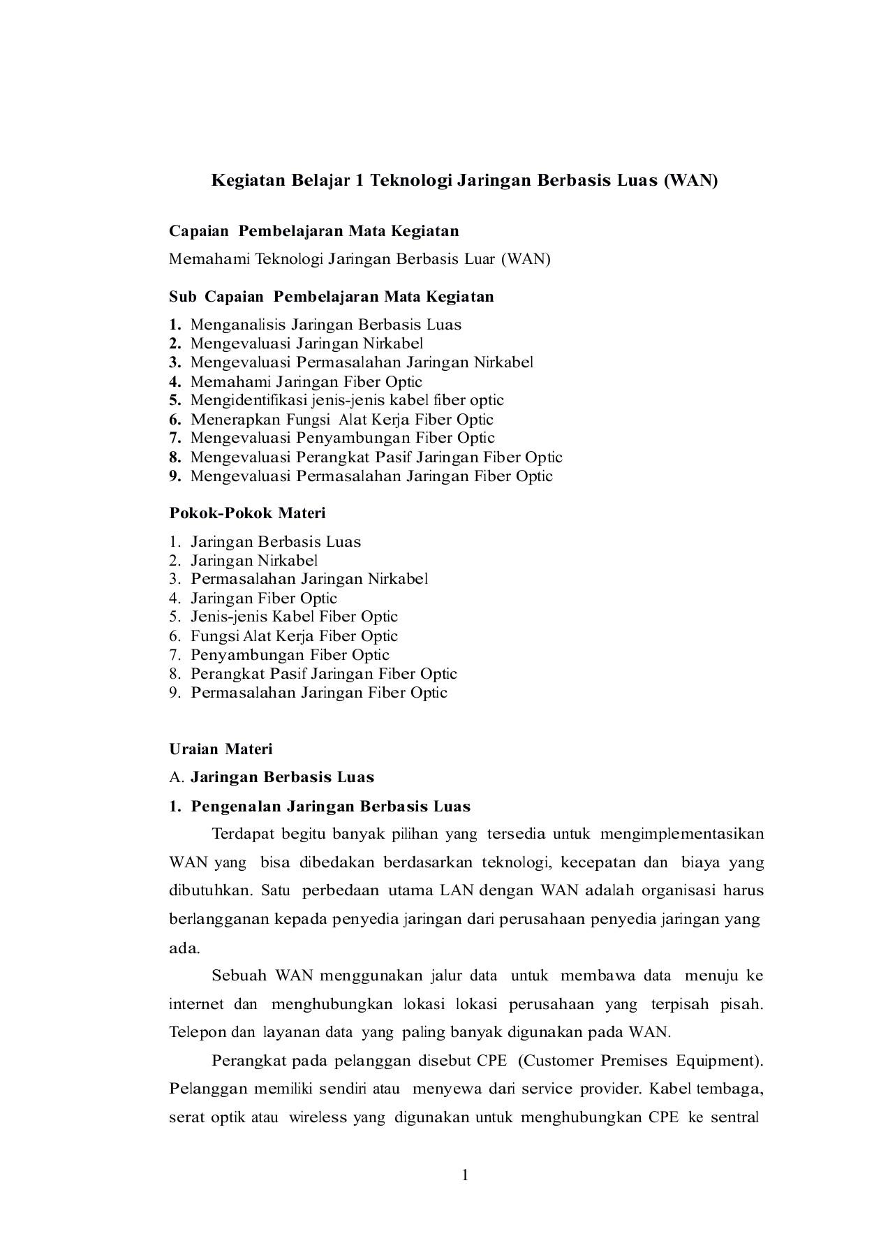 Penyambungan Internet : penyambungan, internet, Materi_Teknologi_Jaringan_Berbasis_Luas, (WAN)