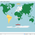 World Continents And Oceans Map Quiz Game