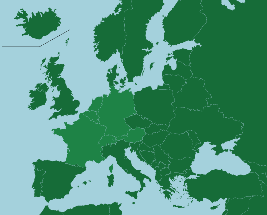 Countries Europe Map Quiz Western