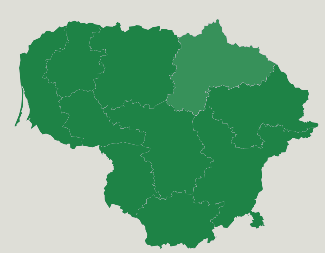 Lithuania Counties