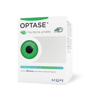 Optase Tea Tree Oil Lid Wipes