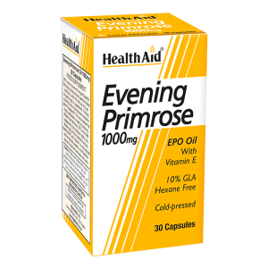 HealthAid Evening Primrose with Vitamin E 1000mg