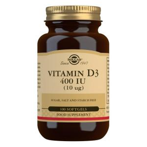 Solgar Vitamin D3 400 IU (10mcg)
