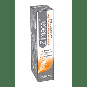 HealthAid Zimacal (Calcium, Magnesium Zinc, Vit D, Vit K)
