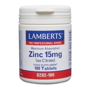 Lamberts Zinc 15mg