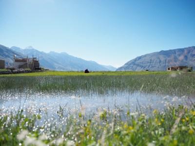ラダックの風景写真