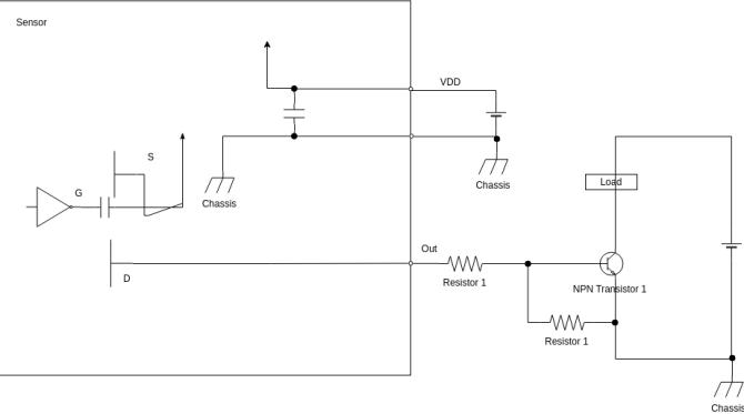 motion sensor  wiring diagram template