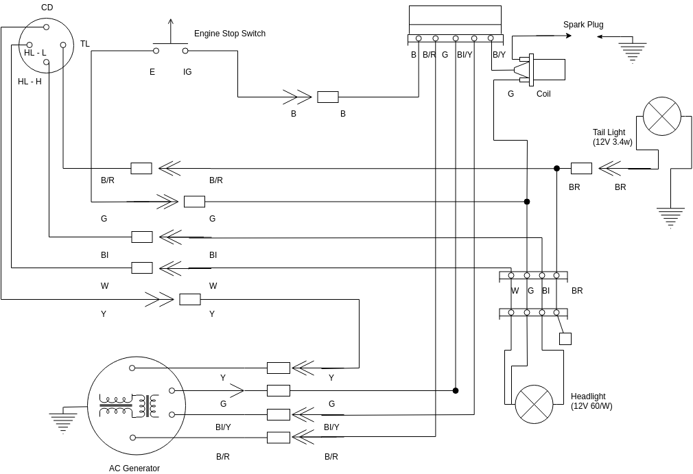 Honda Es6500 Generator Wiring Diagram - Wiring Diagram